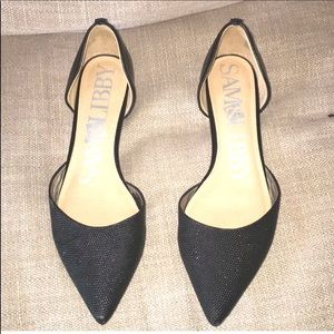 Sam and Libby D'orsay Pointy Toe Flat
